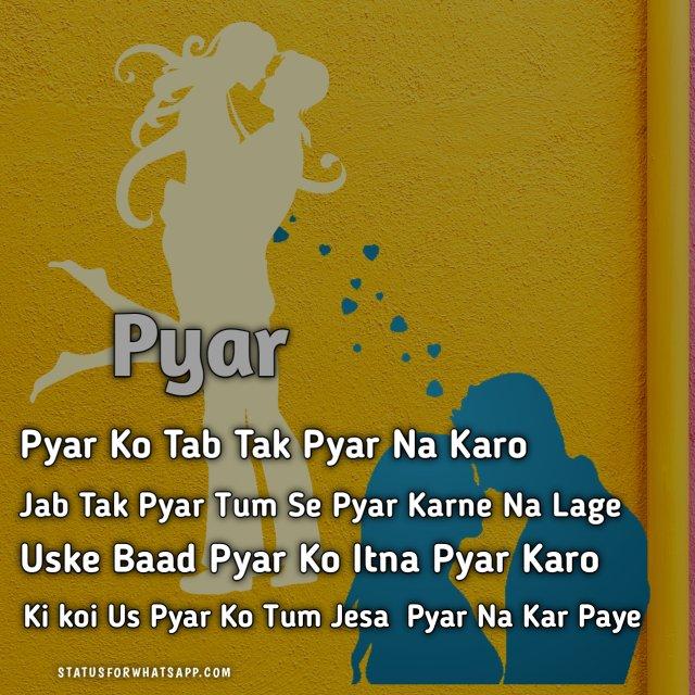 Pyar Love WhatsApp Status
